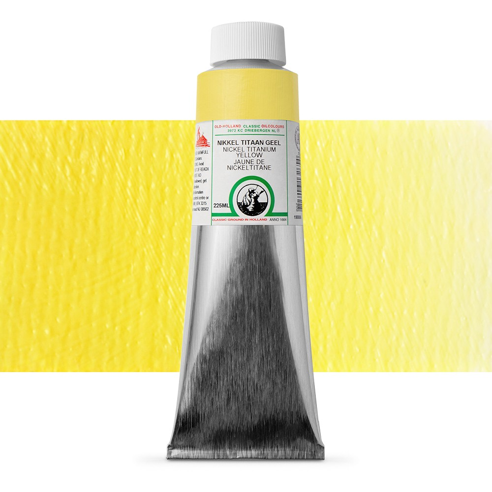 Old Holland : Classic Oil : 225ml Nickel Titanium Yellow