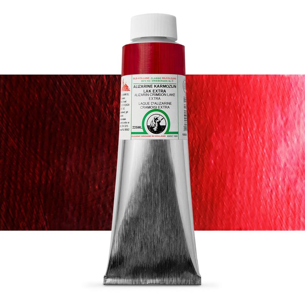 Old Holland : Classic Oil : 225ml Alizarin Crimson Lake Extra