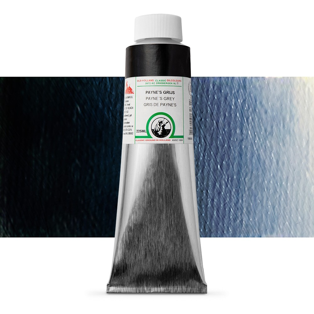 Old Holland : Classic Oil : 225ml Paynes Grey