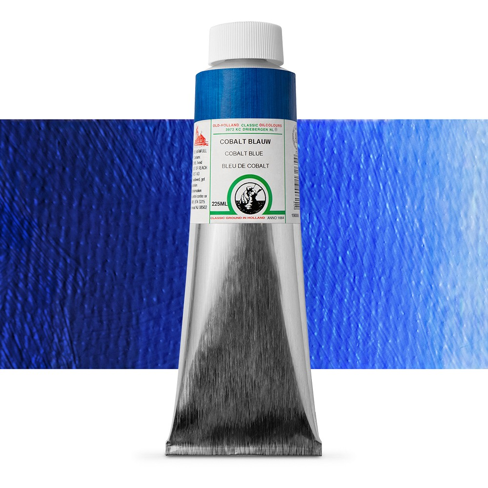 Old Holland : Classic Oil : 225ml Cobalt Blue