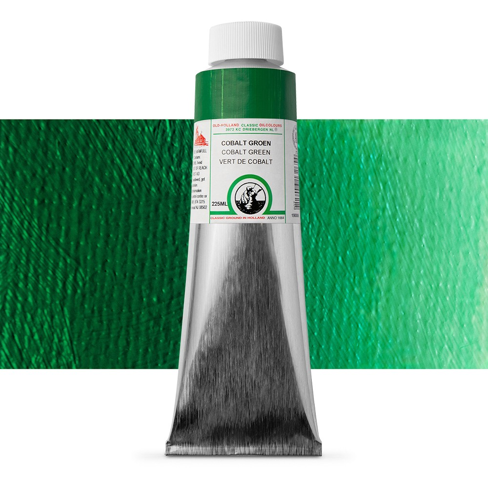 Old Holland : Classic Oil : 225ml Cobalt Green