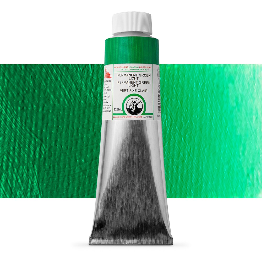 Old Holland : Classic Oil : 225ml Permanent Green Light