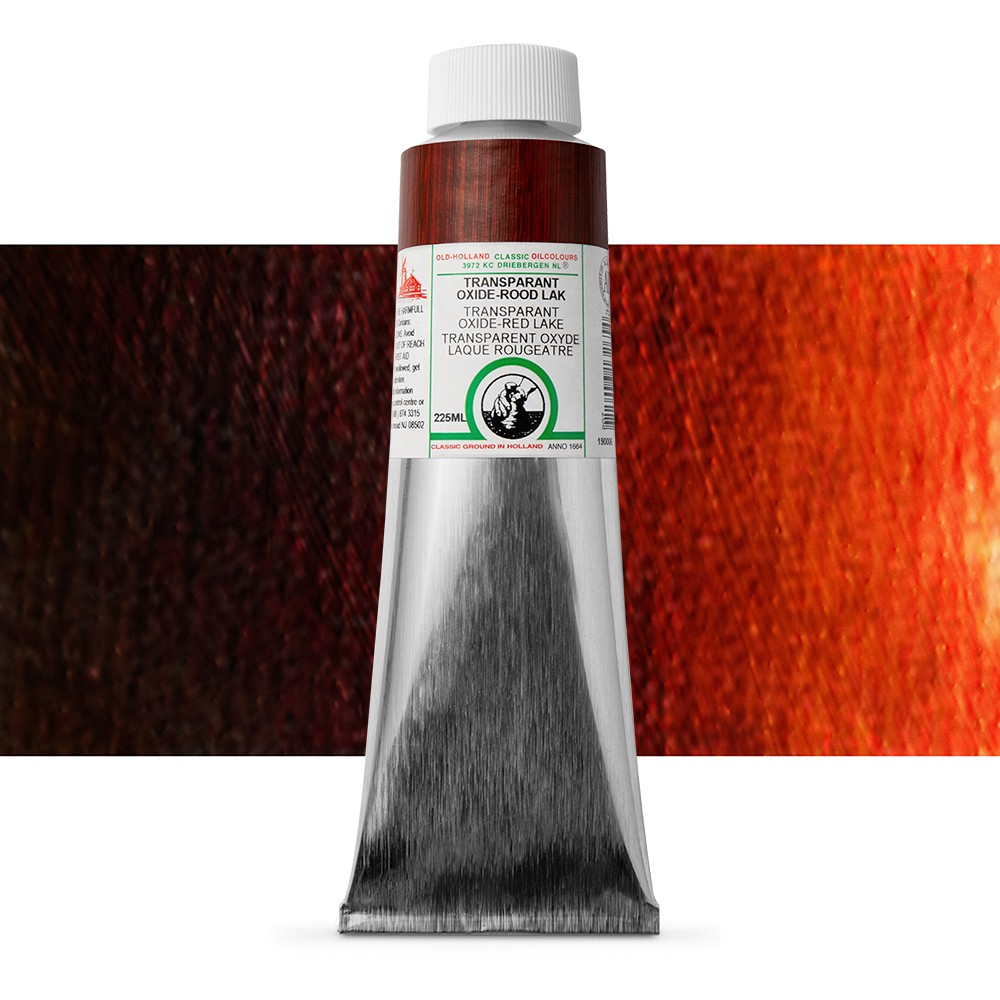 Old Holland : Classic Oil : 225ml Trans Oxide Red Lake