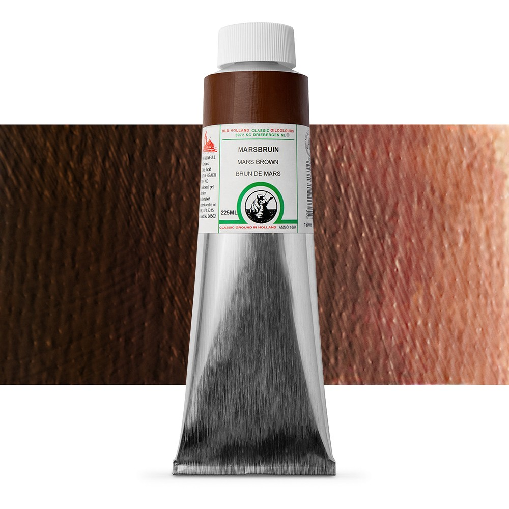Old Holland : Classic Oil : 225ml Mars Brown