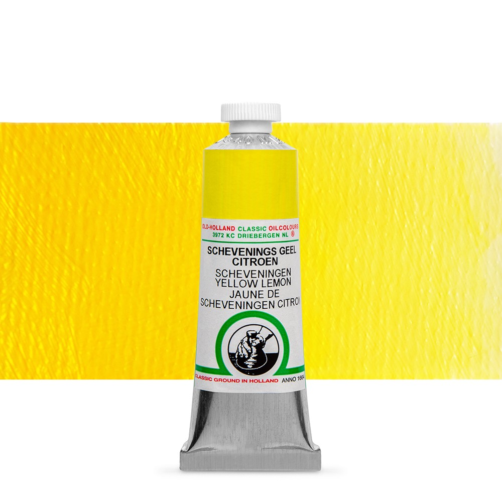 Old Holland : Classic Oil : 40ml Scheveningen Yellow Lemon