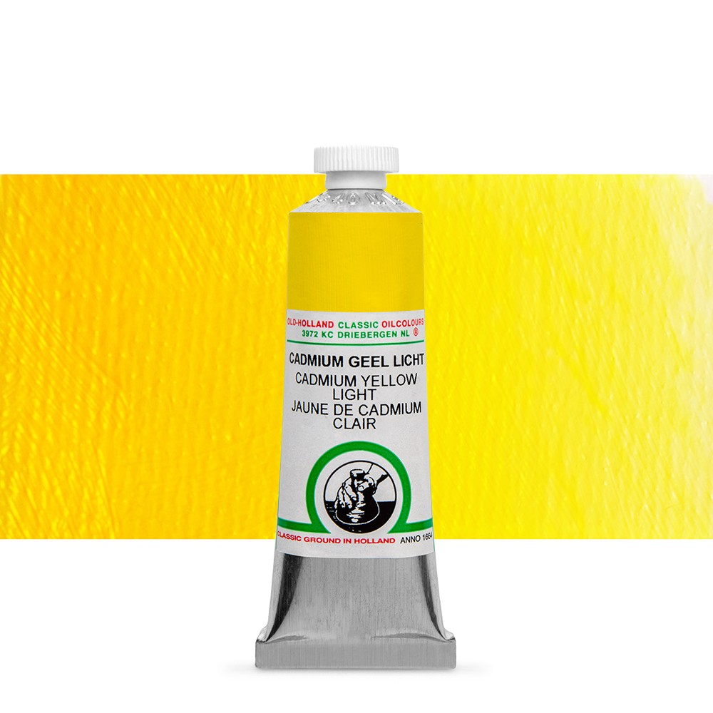 Old Holland : Classic Oil : 40ml Cadmium Yellow Light
