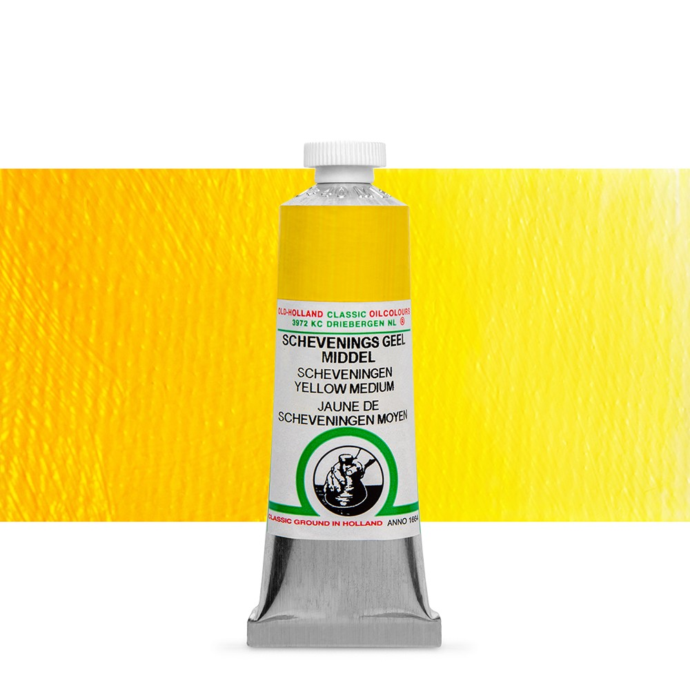Old Holland : Classic Oil : 40ml Scheveningen Yellow Medium