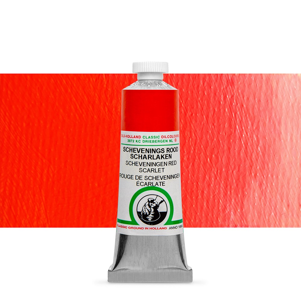 Old Holland : Classic Oil : 40ml Scheveningen Red Scarlet
