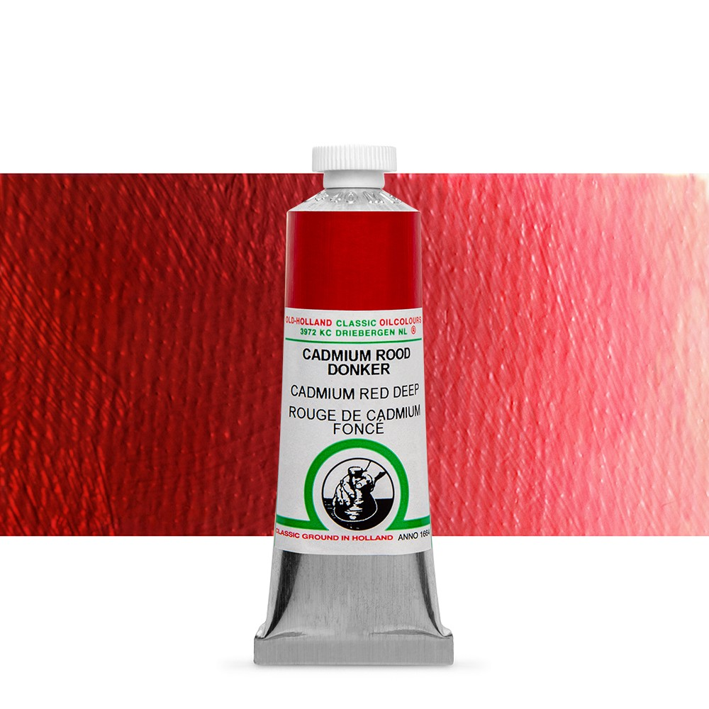 Old Holland : Classic Oil : 40ml Cadmium Red Deep