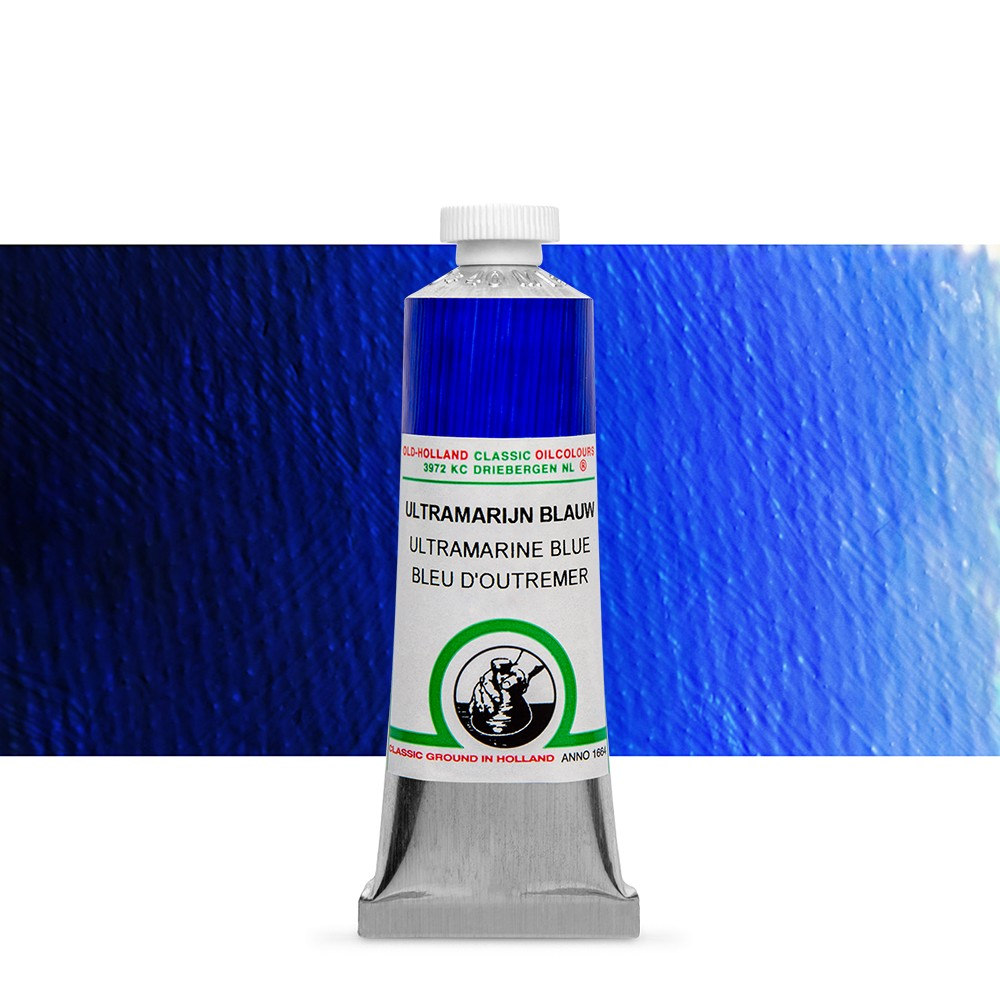Old Holland : Classic Oil : 40ml Ultramarine Blue