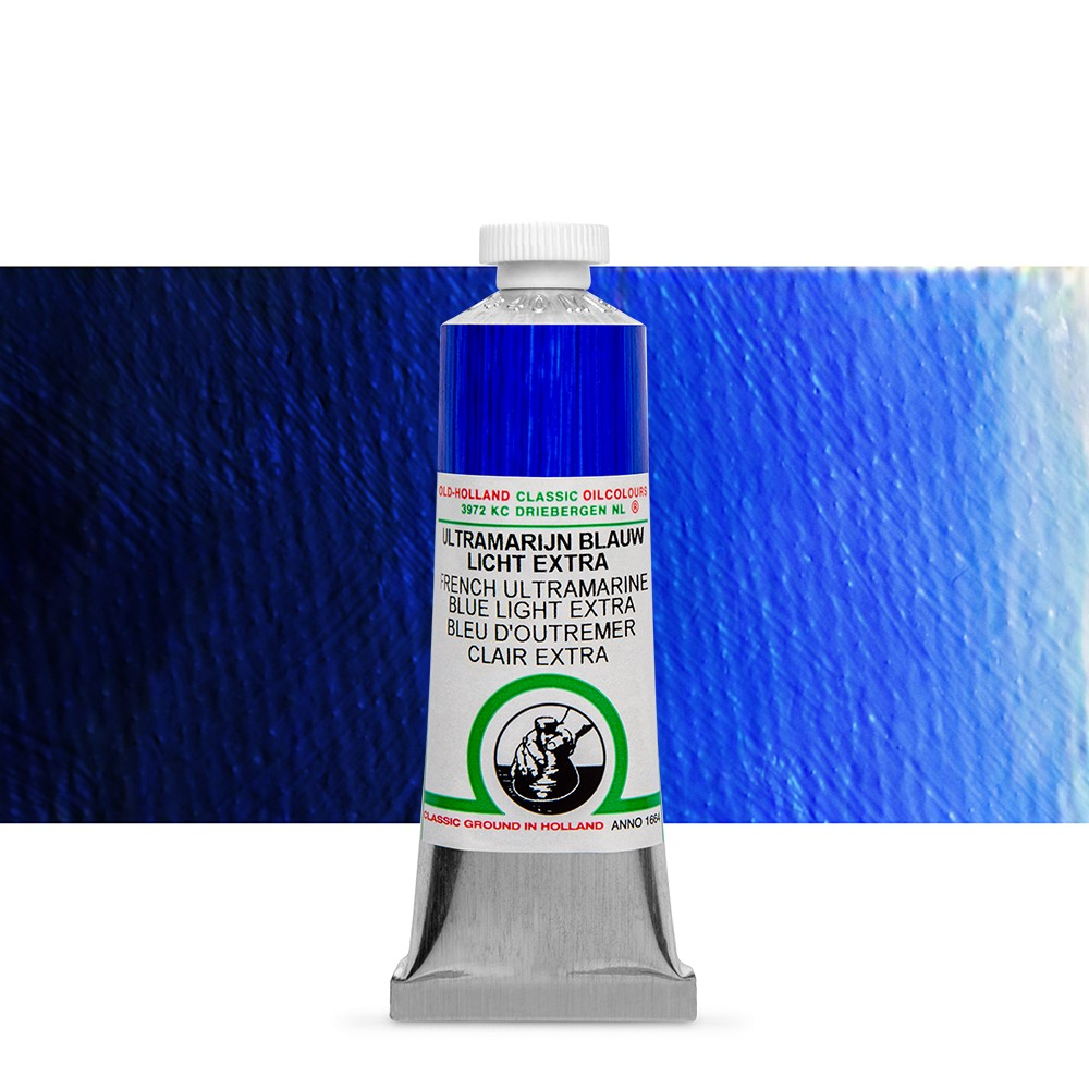Old Holland : Classic Oil : 40ml French Ultramarine Light
