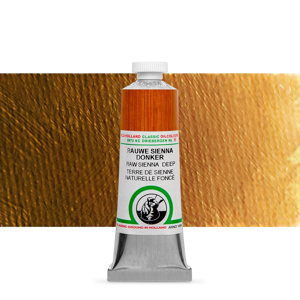 Old Holland : Classic Oil : 40ml Raw Sienna Deep