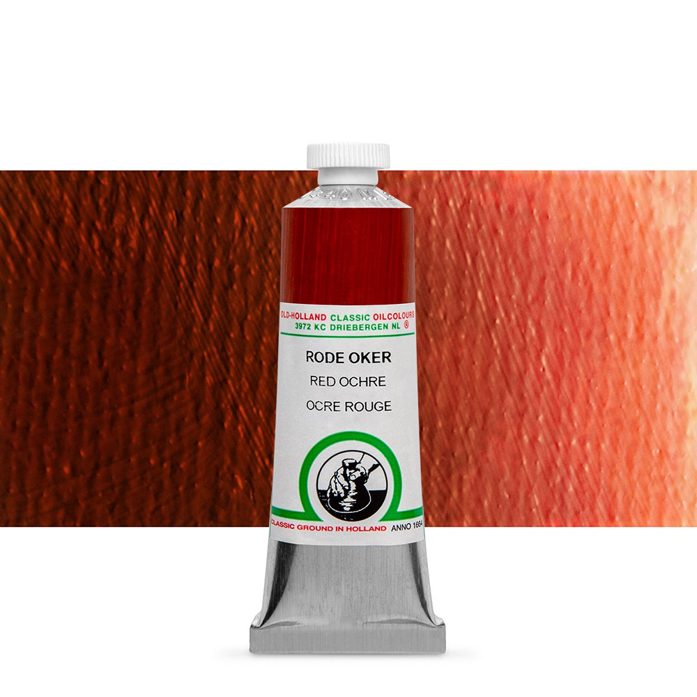 Old Holland : Classic Oil Paint : 40ml : Red Ochre