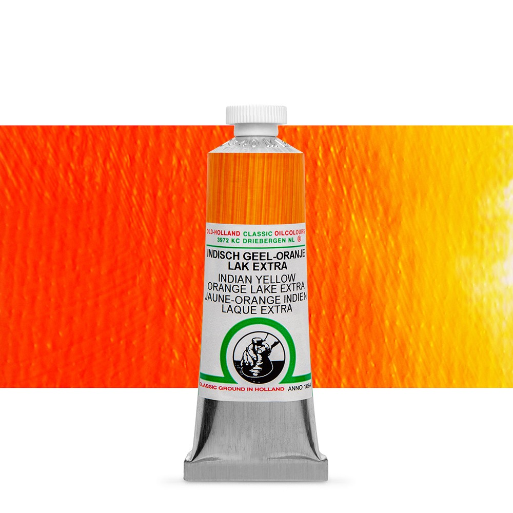 Old Holland : Classic Oil : 40ml Indian Yellow-Orange Lake Ext