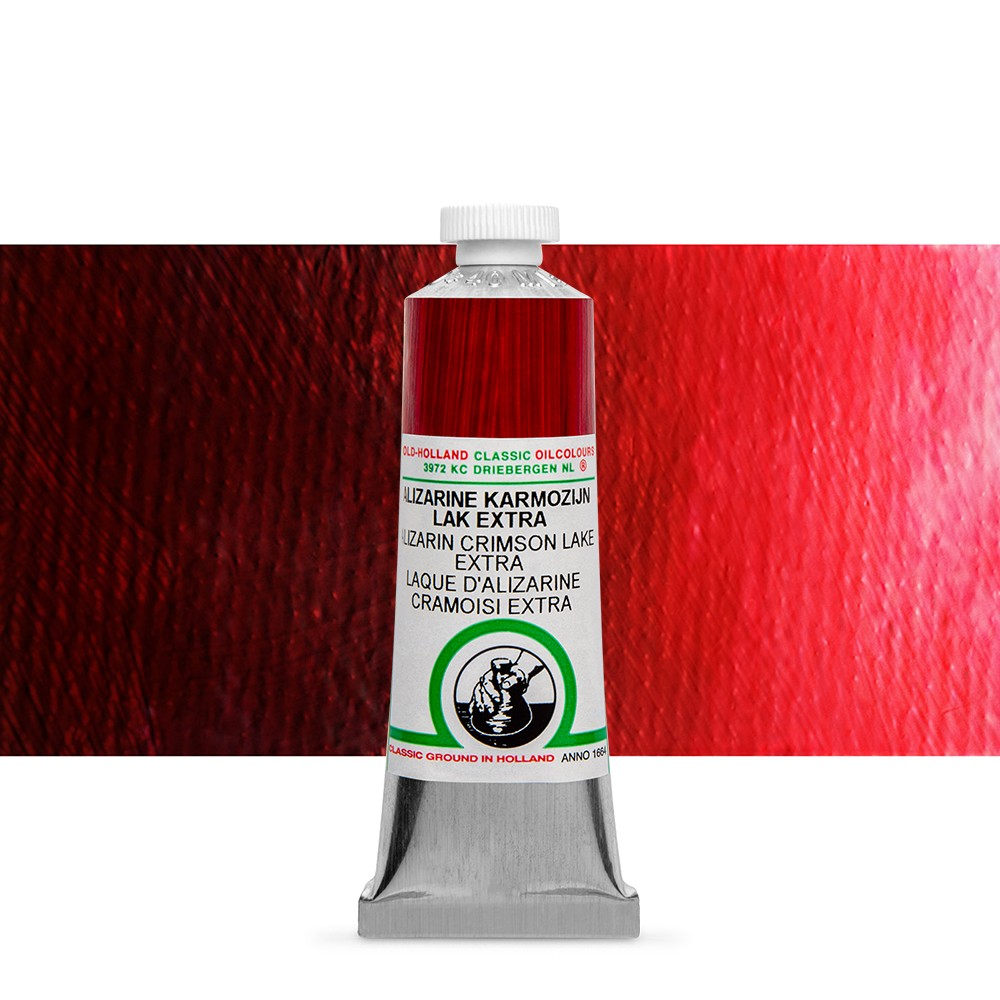 Old Holland : Classic Oil : 40ml Alizarin Crimson Lake Ext