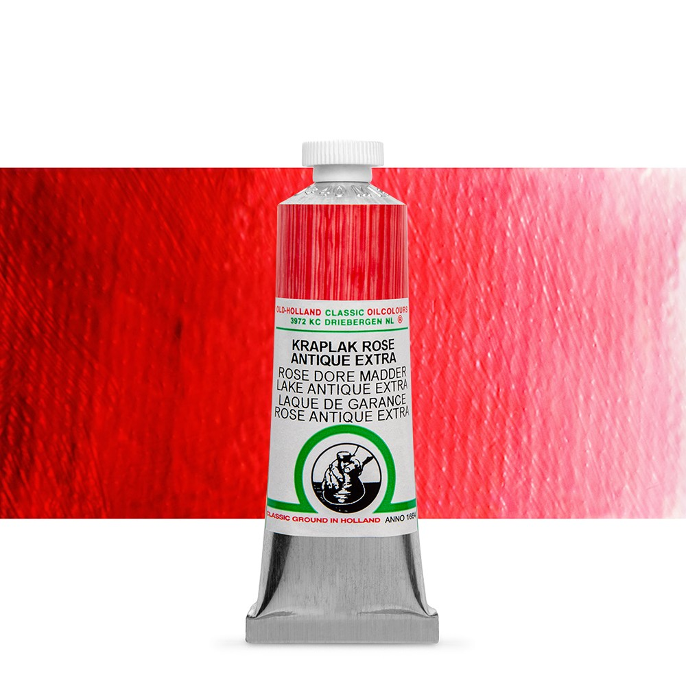 Old Holland : Classic Oil : 40ml Rose Dore Madder Lake Ant