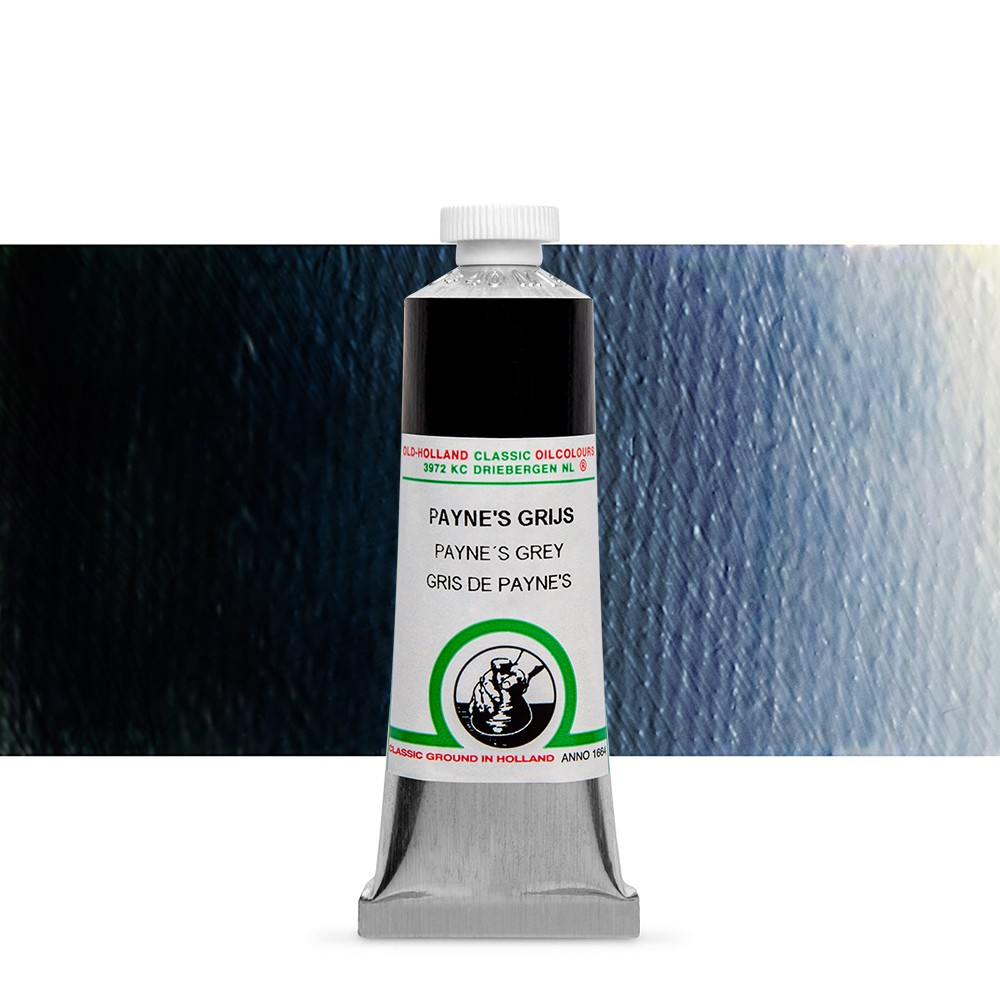 Old Holland : Classic Oil Paint : 40ml : Paynes Grey