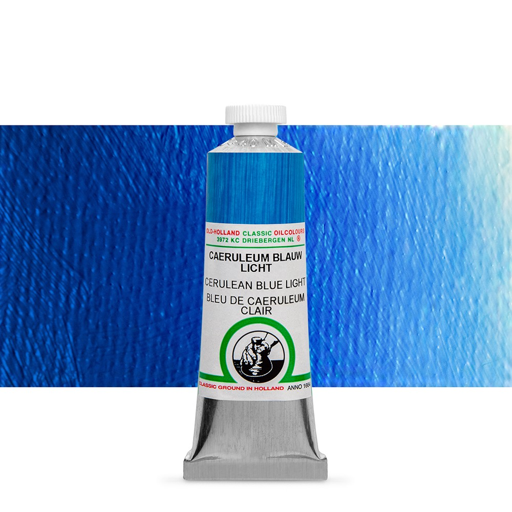 Old Holland : Classic Oil : 40ml Cerulean Blue Light
