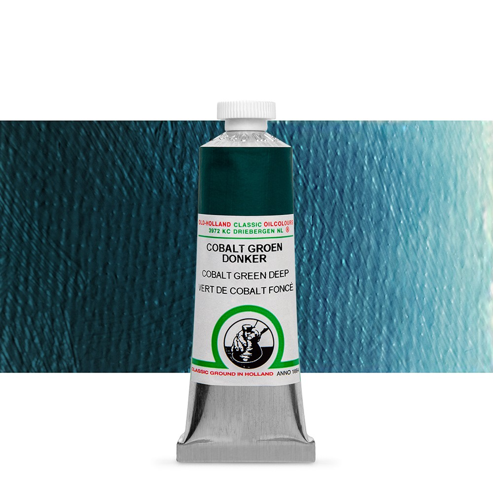 Old Holland : Classic Oil : 40ml Cobalt Green Deep