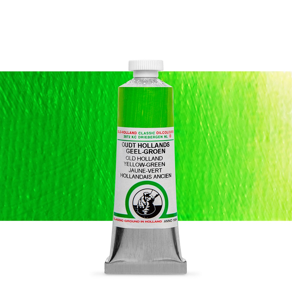 Old Holland : Classic Oil : 40ml Yellow-Green