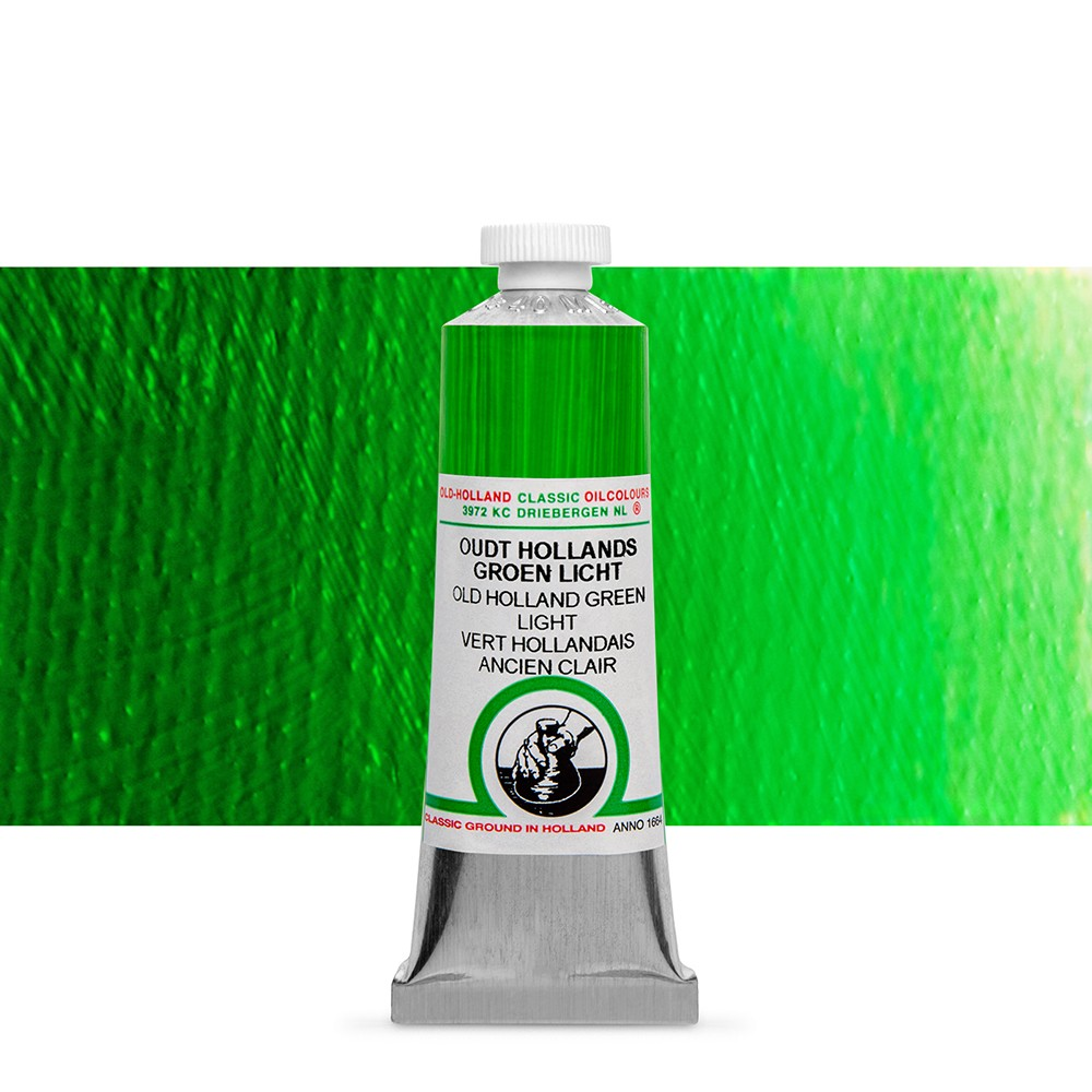 Old Holland : Classic Oil : 40ml Green Light