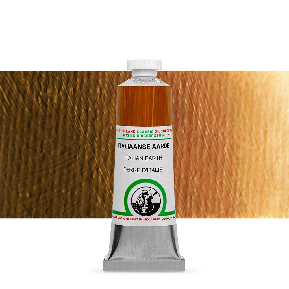 Old Holland : Classic Oil : 40ml Italian Earth
