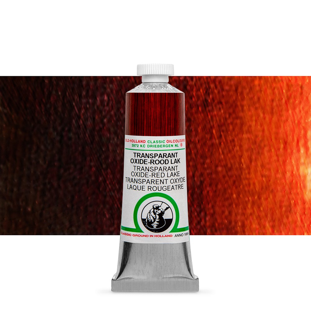 Old Holland : Classic Oil : 40ml Trans Oxide-Red Lake