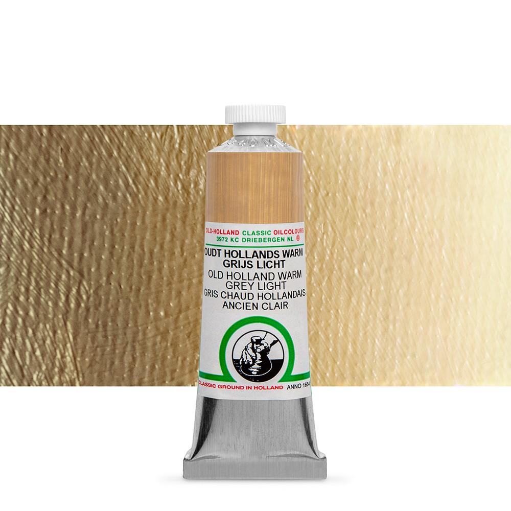Old Holland : Classic Oil : 40ml Warm Grey Light