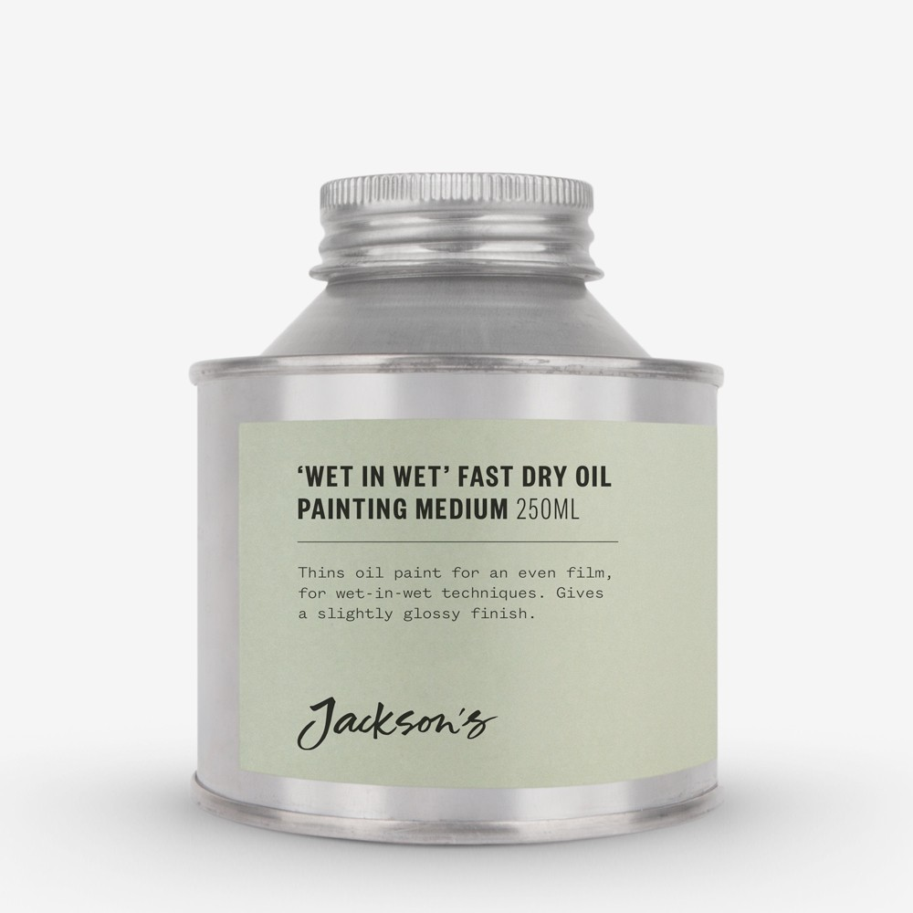 Jackson's : Wet in Wet Fast Dry Oil Painting Medium : 250ml