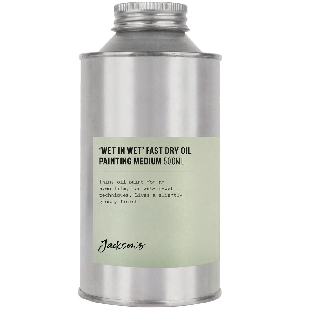 Jackson's : 500ml Wet in Wet Fast Dry Oil Painting Medium *Haz