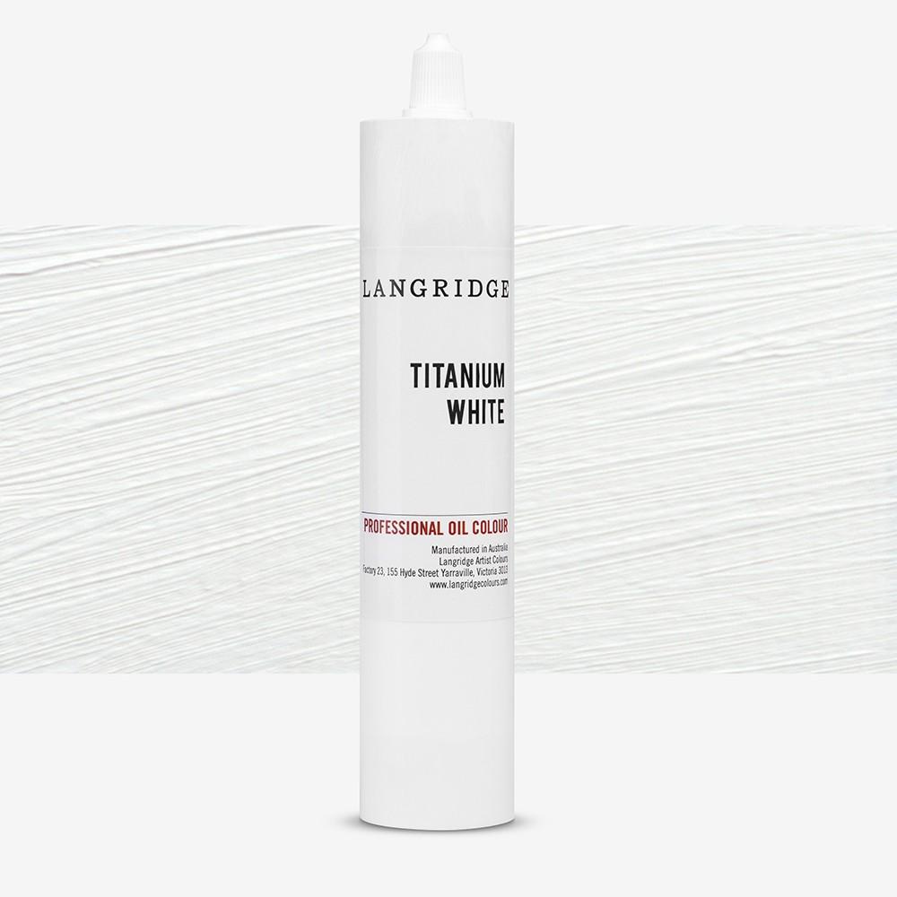 Langridge : Oil Paint : 300ml : Titanium White