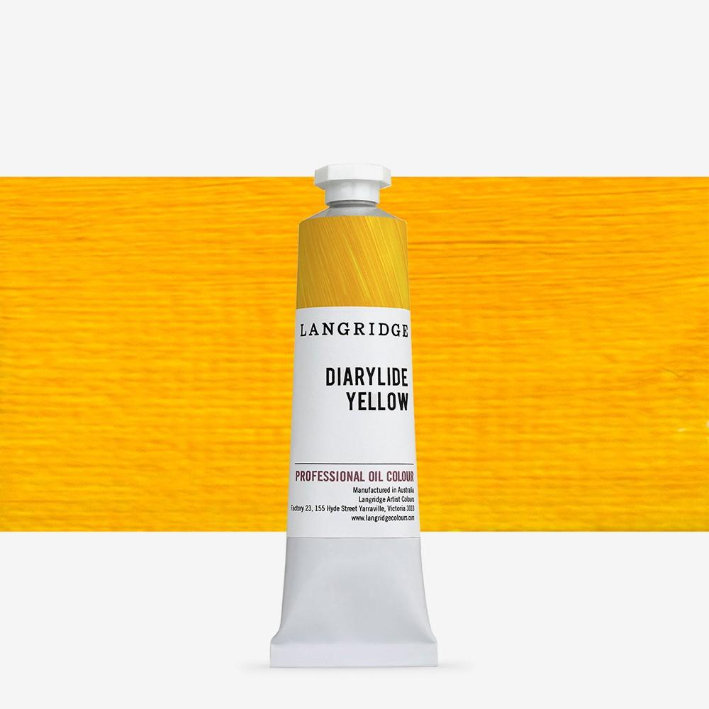 Langridge : Oil Paint : 40ml : Diarylide Yellow