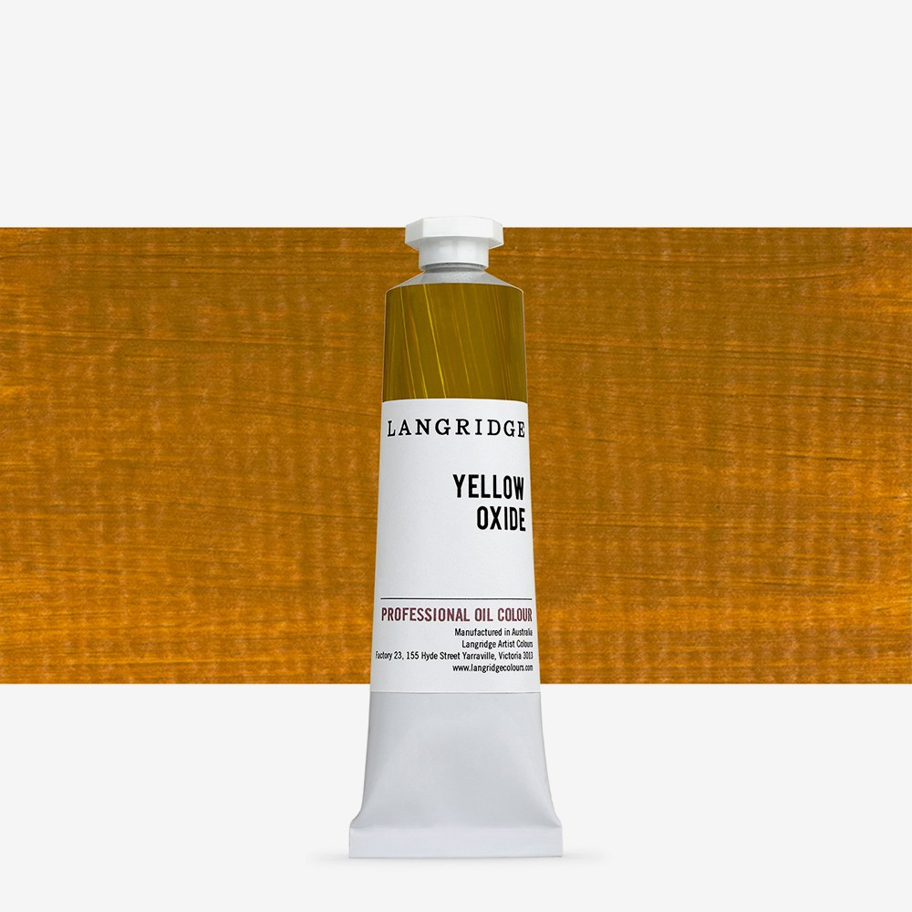 Langridge : Oil Paint : 40ml : Yellow Oxide