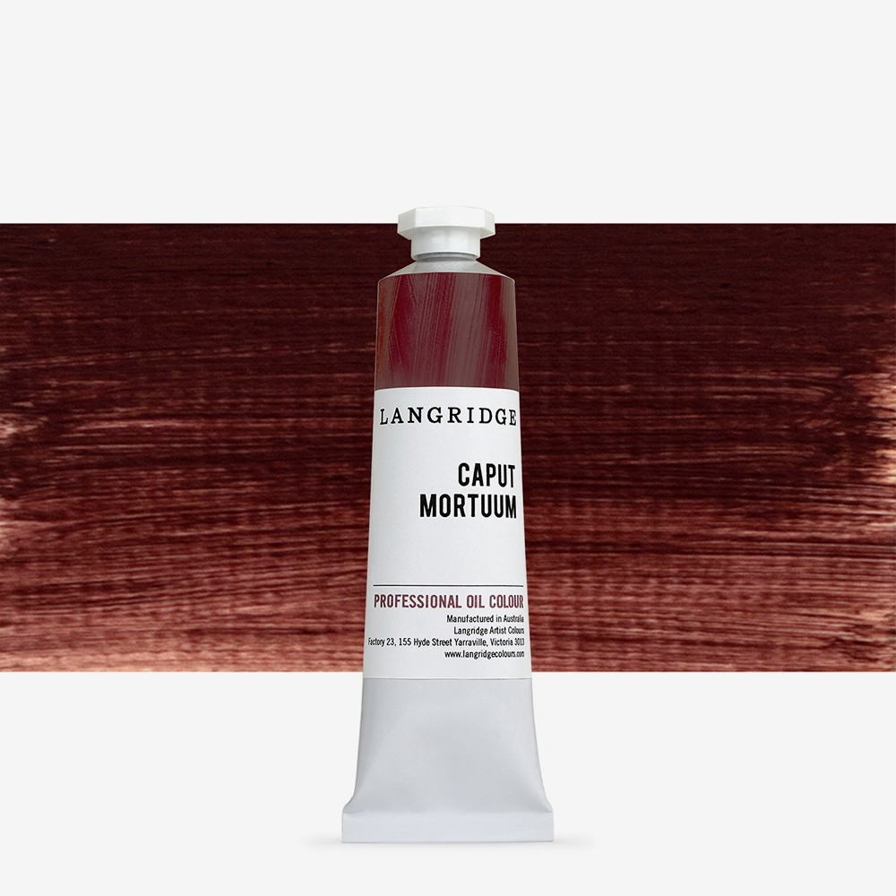 Langridge : Oil Paint : 40ml : Caput Mortuum