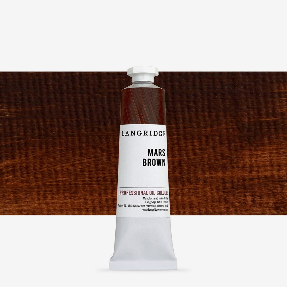 Langridge : Oil Paint : 40ml : Mars Brown