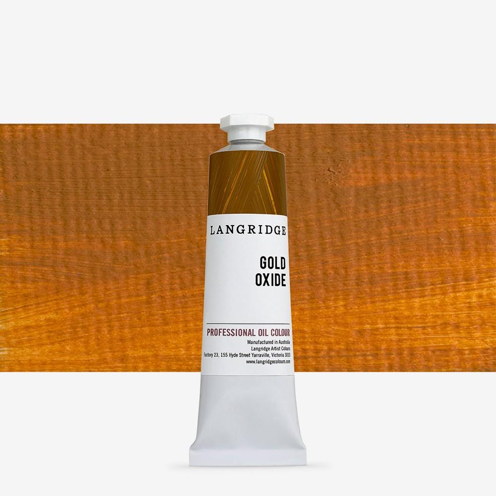 Langridge : Oil Paint : 40ml : Gold Oxide