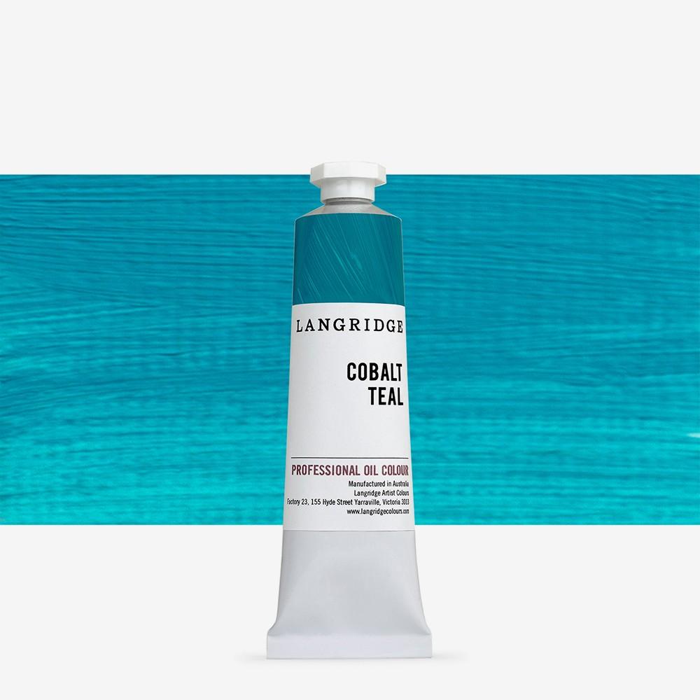Langridge : Oil Paint : 40ml : Cobalt Teal