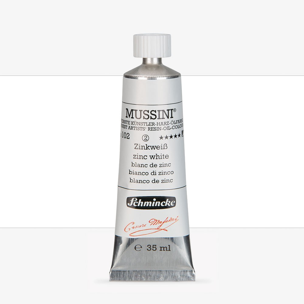 Schmincke : Mussini Oil Paint : 35ml : Zinc White