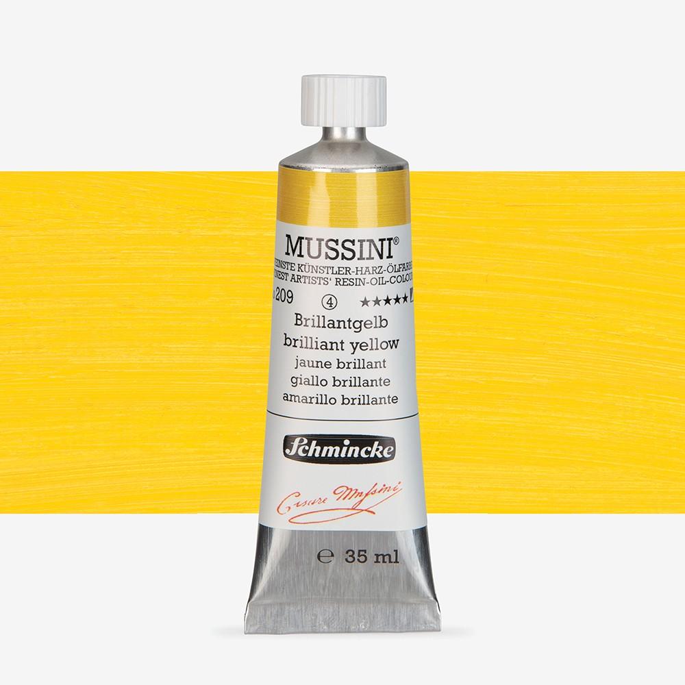 Schmincke : Mussini Oil Paint : 35ml : Cadmium Yellow Hue