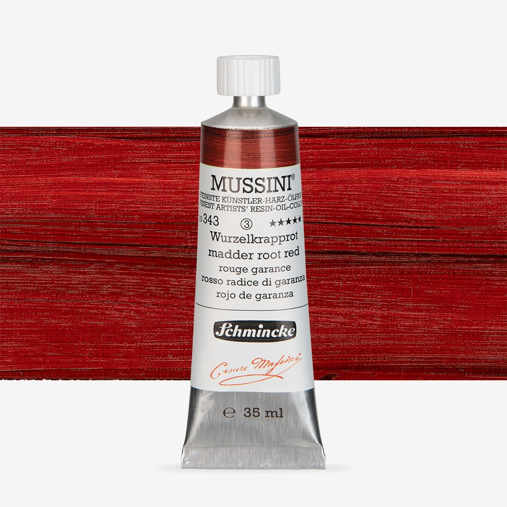 Schmincke : Mussini Oil Paint : 35ml : Madder Root Tone