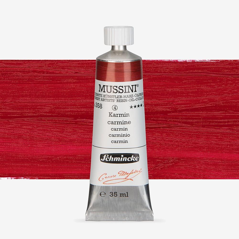 Schmincke : Mussini Oil Paint : 35ml : Carmine