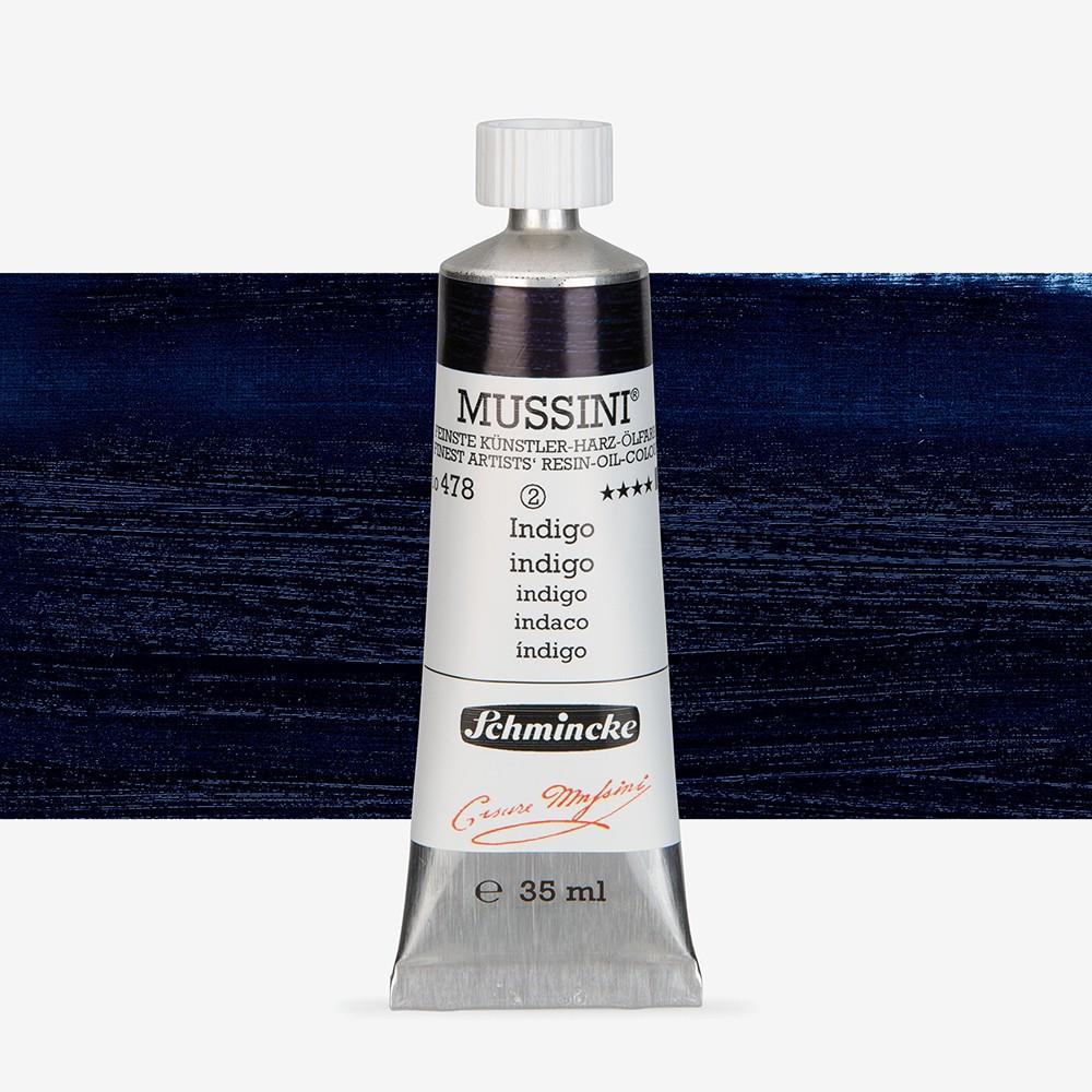 Schmincke : Mussini Oil Paint : 35ml : Indigo