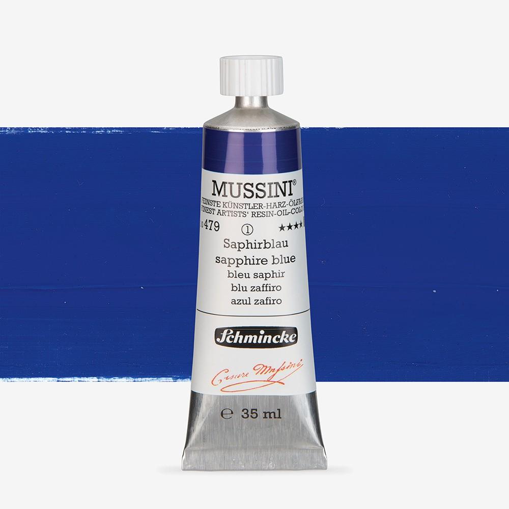 Schmincke : Mussini Oil Paint : 35ml : Cobalt Blue Tone