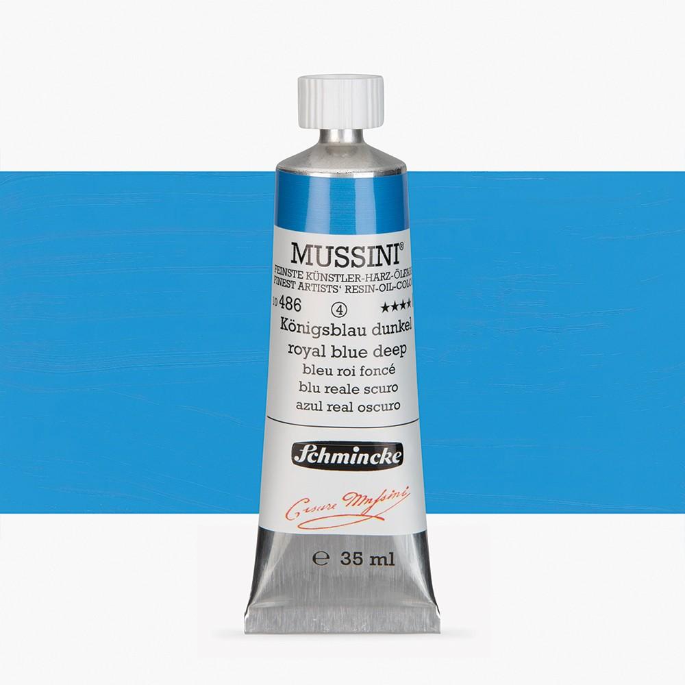 Schmincke : Mussini Oil Paint : 35ml : Royal Blue Deep