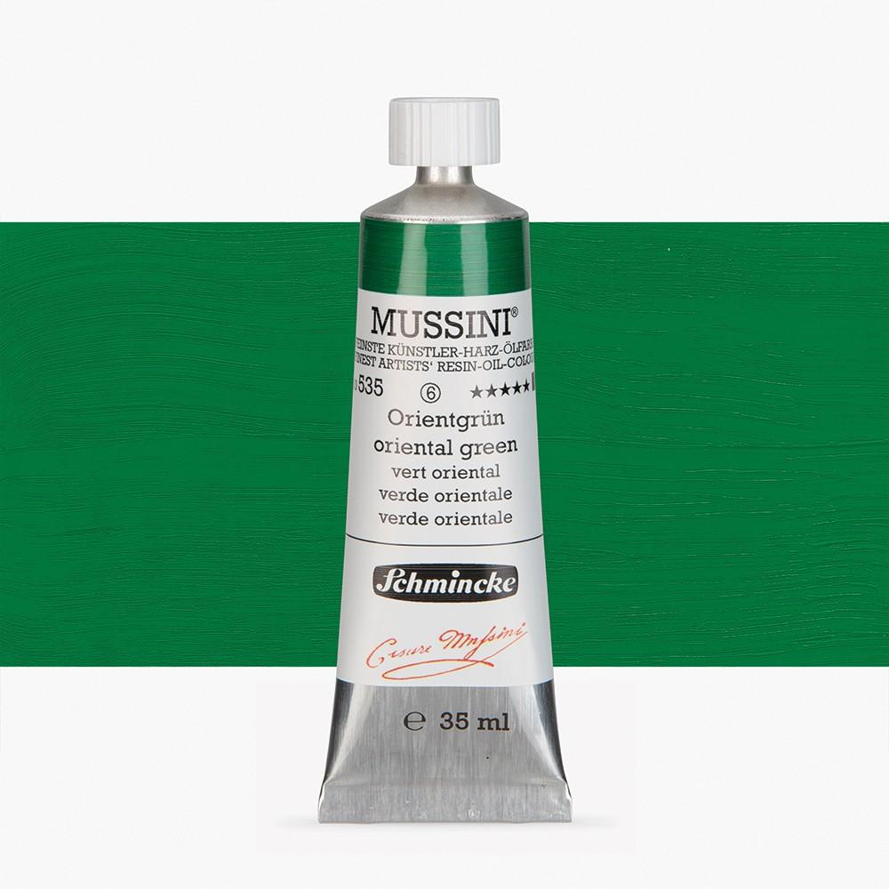 Schmincke : Mussini Oil Paint : 35ml : Oriental Green