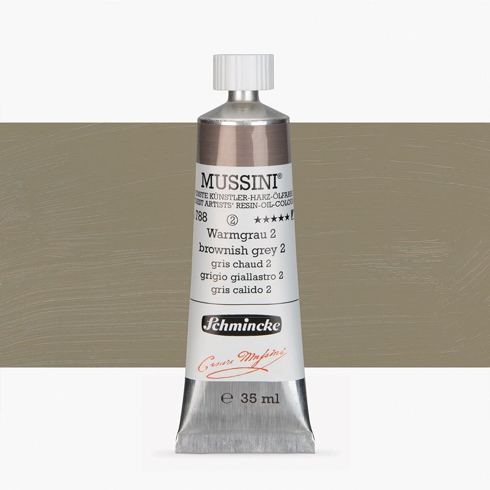 Schmincke : Mussini Oil Paint : 35ml : Brownish Grey No 2