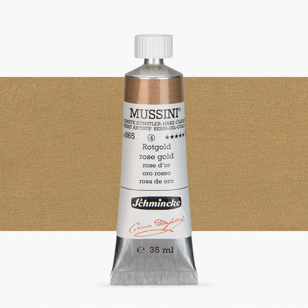 Schmincke : Mussini Oil Paint : 35ml : Rose Gold