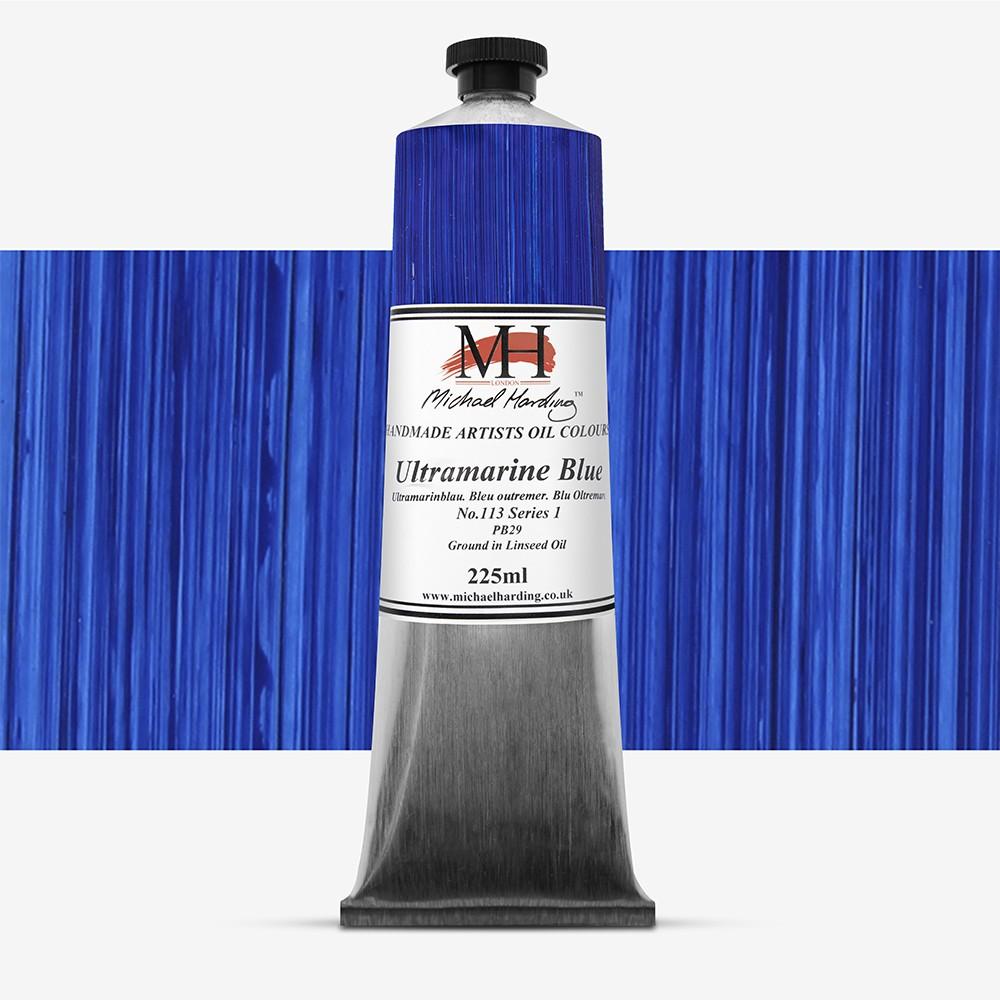 Michael Harding : Oil Colour : 225ml Ultramarine Blue
