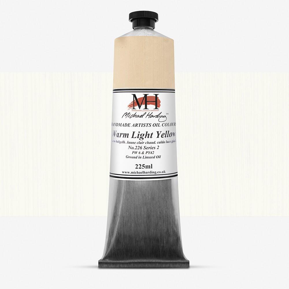 Michael Harding : Oil Paint : 225ml : Warm Light Yellow