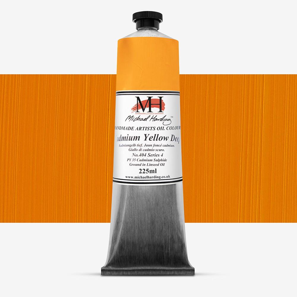 Michael Harding : Oil Paint : 225ml : Cadmium Yellow Deep